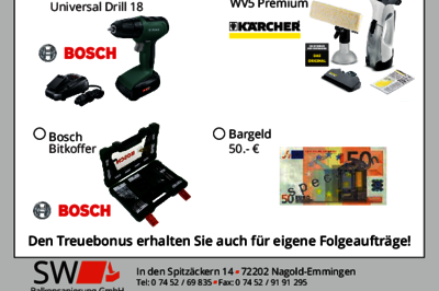 SW Bonusaktion 2020 zum Download